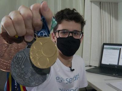 capapernambucano de 18 anos conquistou primeiro lugar em competicao Internacional de Matematica