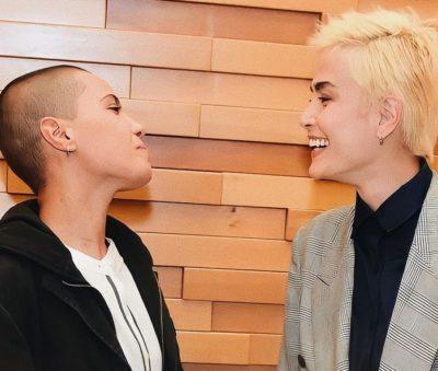 1 2 Maria Casadevall vai a pre estreia com namorada e sofre lesbofobia nas redes sociais