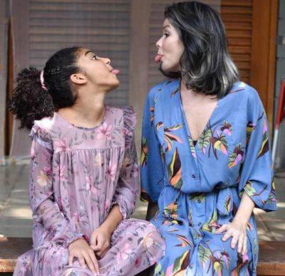 1 3 Filha de Samara Felippo e chamada de negrinha chata na escola e atriz desabafa sobre racismo