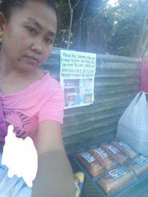 1 4 Pai desesperado vende doces na rua para salvar vida de bebe que precisa de transplante de figado