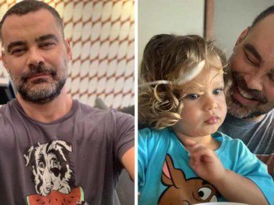 2 Capa Carmo Dalla Vecchia se realiza ao ser pai e agradece barriga de aluguel Experiencia linda