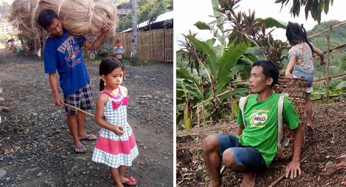 3 Capa Desde os 6 anos menina ajuda o pai cego a trabalhar para garantir o sustento da familia