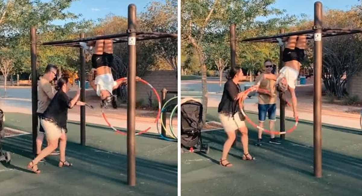 4 Capa Isso e tao obsceno Mulher furiosa ataca atleta porque sua barriga estava aparecendo