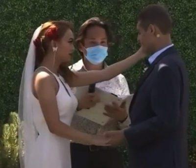 6 5 Medico informa que homem tem semanas de vida e ele decide se casar com amor de infancia