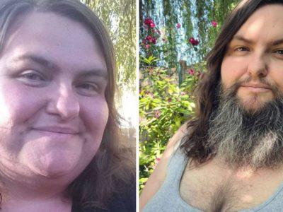 capaapos 26 anos se escondendo mulher assumiu barba me sinto feminina e sexy