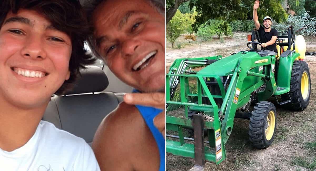 2 capa Filho de Kadu Moliterno publica foto trabalhando em plantacao de maconha na California