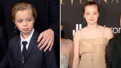 2 capa site Publico esta criticando filha de Angelina Jolie e Brad Pitt por usar vestidos E nao esta tudo bem
