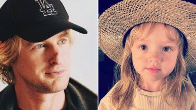3 capa Ex do ator Owen Wilson revelou que ele nunca quis conhecer a filha de 3 anos