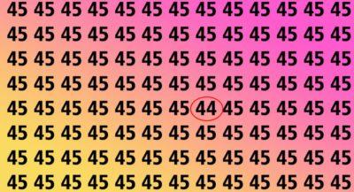 5teste de foco e agilidade Encontre o numero diferente nas 4 imagens em 5 segundos