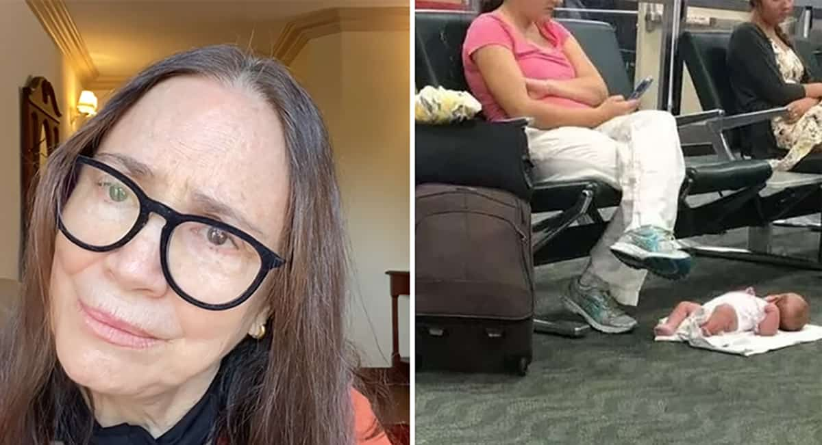 Regina Duarte reposta foto de mae exausta tamanho site