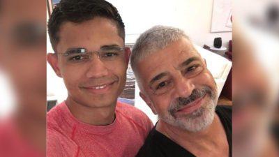 capamaior acerto da minha vida diz Lulu Santos sobre relacionamento com Clebson Teixeira