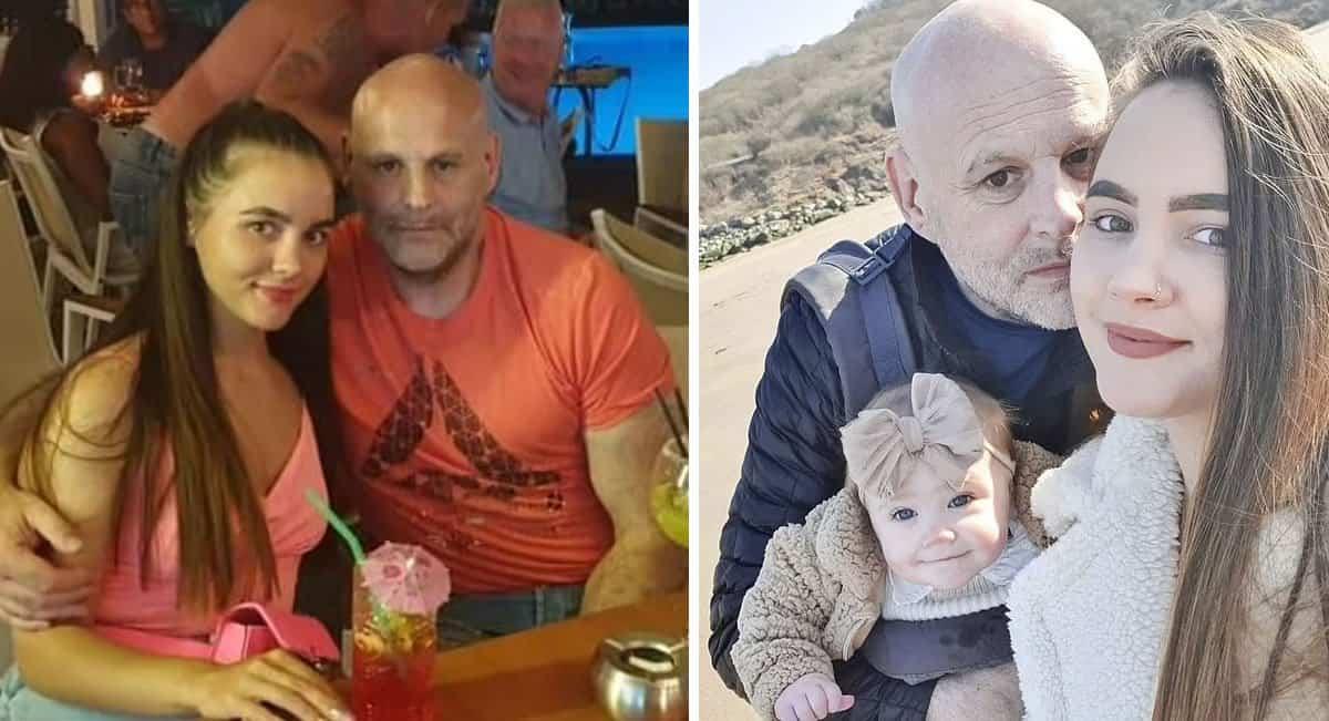 capamulher de 26 anos se apaixonou e teve bebe com homem de 55 Perguntam se sou sua filha