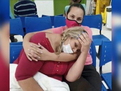 mulher morre capa