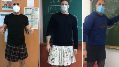 professores vao